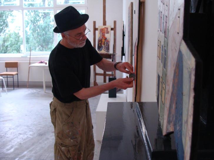 Atelier in Berlin_Oberschoeneweide 2012